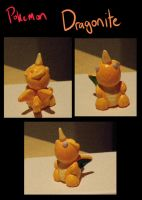 Pokemon-Dragonite miniature by SheriffGraham