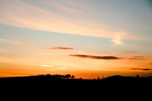 Sunset on hill - 2 by ossie-eat-world