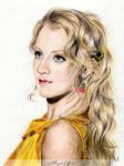 Evanna Lynch (Luna Lovegood) by xxMagicGlowxx