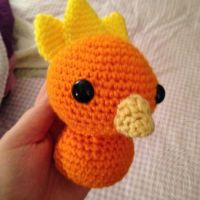 Torchic Wip by theyarnbunny