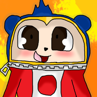 Persona 4 Teddie by WolfLover12321