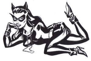 60S CATWOMAN by dpage3