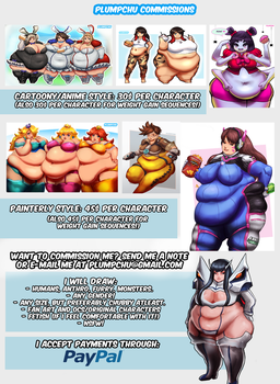 Plumpchu Commissions Info + Prices by Plumpchu