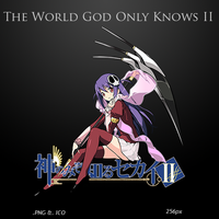 The World God Only Knows II - Anime Icon by duckne55