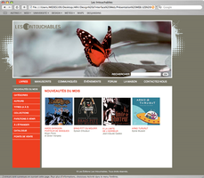 Site web - non reel by melany182