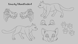 MS Paint Friendly Cat Ref Page by TikamiHasMoved