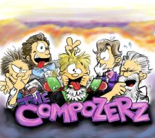 The Compozerz Being Goofs by hankinstein