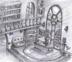 Princess Blaze's study room by PsuC