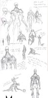 Sketchdump - 7/04/2014 (SCP 321) by Kanoro-Studio