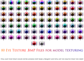 MMD- Daiyo Eye texture 80- DL by MMDFakewings18