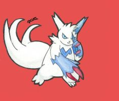 Zangoose by Randomous