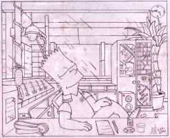 1999.  Bart the DJ by simpspin