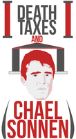 Death Taxes and Chael Sonnen red by caseharts