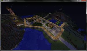 Building A Town by Champineography