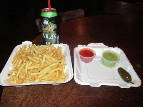 French Fries and A Raineer by Bauvy
