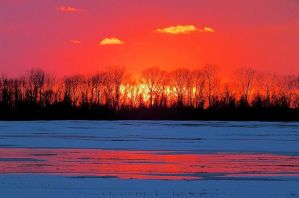 Winters Fire by dendrology