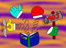 Varias Manos Toons by Quilmer
