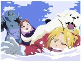 FMA Winter- Coloured by kirbykandy