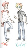 Tod and Cayley by kittypretzels15