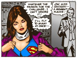 Classic panels revisited: Superman Family #205 by 5red