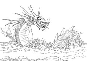 Sea Dragon by hyuthefish