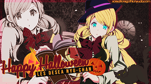 Happy Halloween [Les desea Nyu/Out] by xCreationsGothicNyu