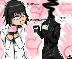 ShinraXCelty-Out for Ice Cream by AoiGetsueiAwai