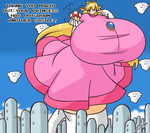 Super Toadstool - Commission by Sanone