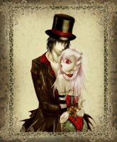 Vampire and His Slave by gensoukai12
