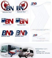 Nour Transport indentity by blueburn