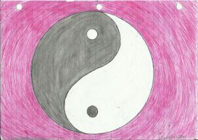Yin and Yang by amberwolf7