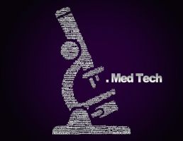 MedTech Microscope Typography by nash88