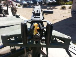 AJ on the .50 by Tracerguard