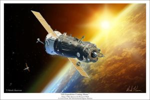 ISS Expedition Coming Home by markkarvon