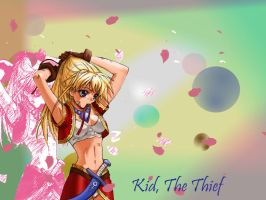 Chrono Cross- Kid the thief by Lunatia