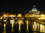 Piece of Rome by night by valespider
