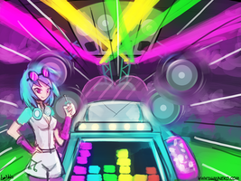 dj pon3 roll out! (30minutechallenge) by luminaura
