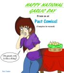 NATIONAL GARLIC DAY by Pact-Comics