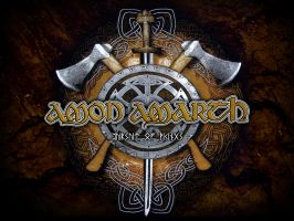 Amon Amarth Pursuit of Vikings by KronicX