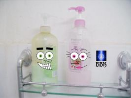 Fairy shampoo bottles by BB-K