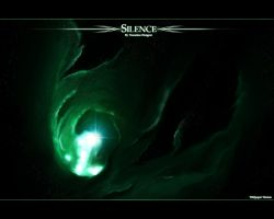 Silence Wallpaper by Nameless-Designer