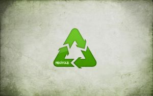 """Recycle"" Wallpaper by osallivan"