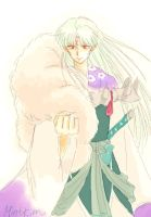 Sesshomaru by MintKim