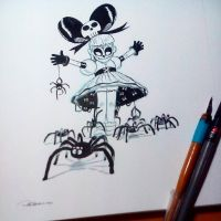 Inktober2015 day 1 by raultrevino