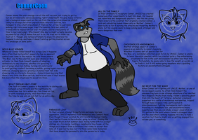 Conner Character Reference by ConnerCoon