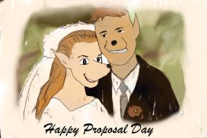 National Celebration : Proposal Day by Pegarissimo