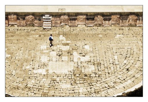 Bosra Amphitheatre 1 by glorysword