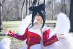 Ahri League of Legends by sonicJKevin