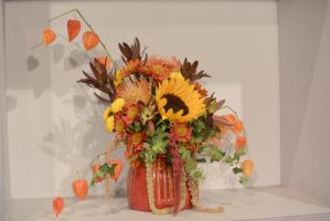 Topsfield Fair Flower Show, Flower Art 7 by Miss-Tbones