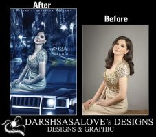 Elissa Before and After by DARSHSASALOVE